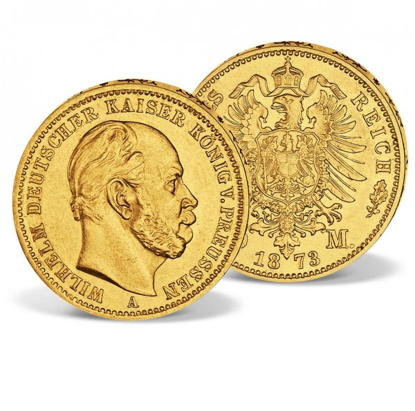 "Originalmünze 10 Goldmark ""Wilhelm I."" AT_1570005_1"