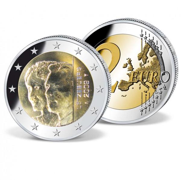 """2 Euro Gedenkmünze """"Luxemburg 90 Jahre Thronbesteigung"""" AT_2718237_1"""