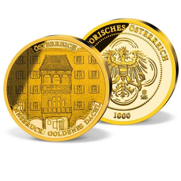 "Goldprägung ""Das goldene Dachl"" AT_2870040_1"