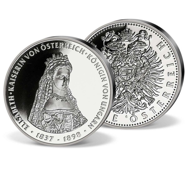 Gedenkprägung Kaiserin Sisi Elisabeth 1837 1898 Kaiserreich