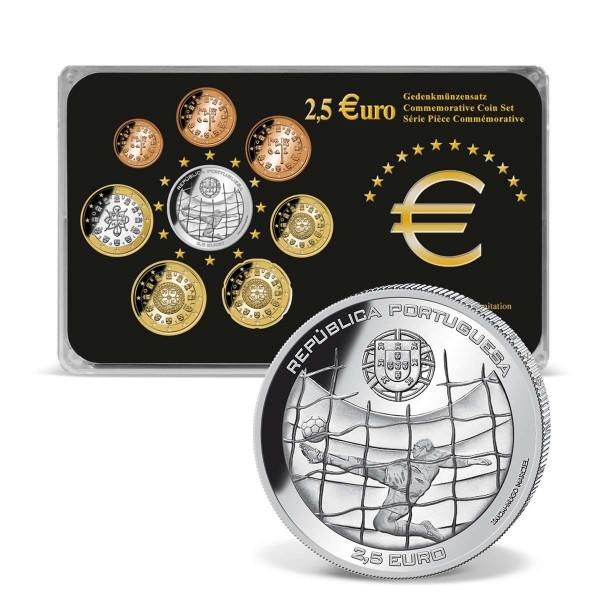 """2,5 Euro Gedenkmünzensatz Portugal """"WM 2014"""" AT_2708255_1"""
