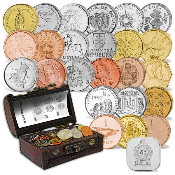 """Münzschatz-Truhe """"Das Geld der Welt"""" AT_8811001_1"""