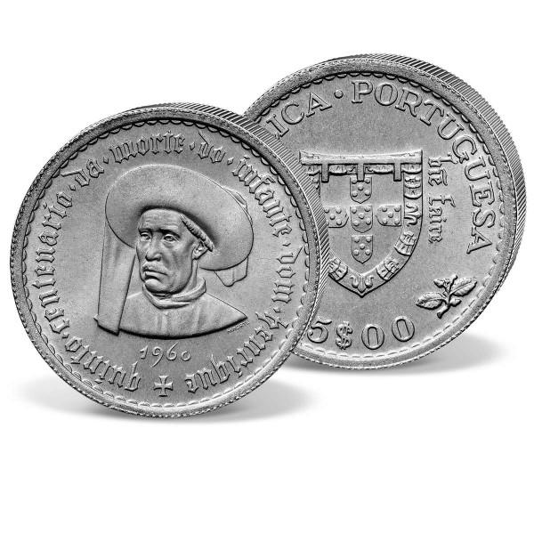 """Silbermünze """"Heinrich der Seefahrer"""" AT_2429573_1"""