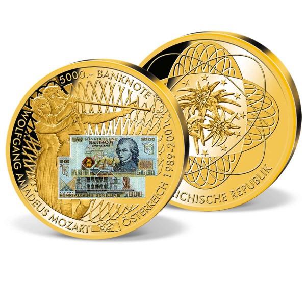 "Giganten-Banknotenprägung ""5.000 Schilling"" AT_9182431_1"