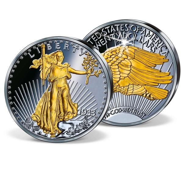 "Ruthenium-Gedenkprägung ""1933 Double Eagle"" AT_8201665_1"