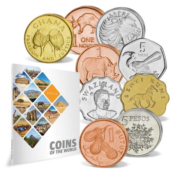 """43er Komplett-Set """"Coins of the World - Afrika"""" AT_8811008_1"""