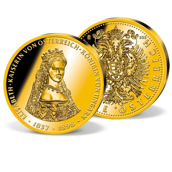 "Goldprägung ""Kaiserin Elisabeth 1837-1898"" AT_9091402_1"