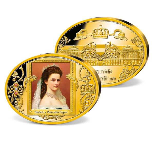 """Ovale Gigantenprägung """"Elisabeth von Österreich Ungarn"""" AT_8435883_1"""