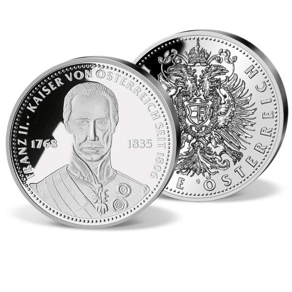 """Silber-Gedenkprägung """"Franz II Kaiser von Österreich"""" AT_9090181_1"""